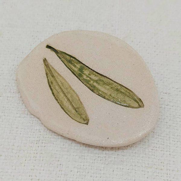 Broche de cerámica