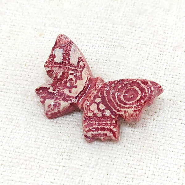 broche artesanía valenciana cerámica