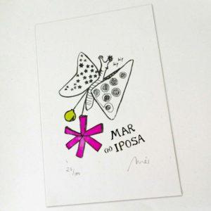 Serigrafía Mariposa mariposa