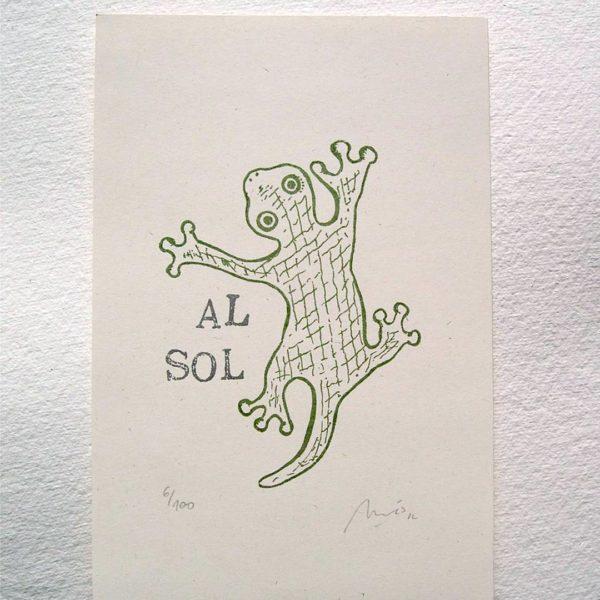 Salamandra Al Sol